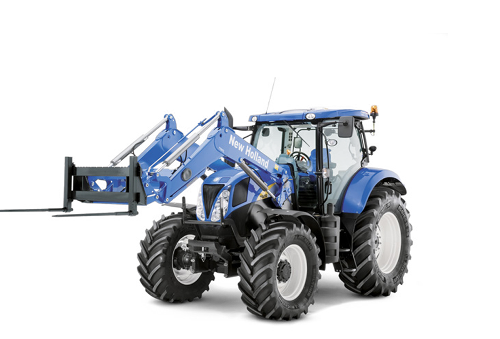 ITT 1878 CM93  NEW HOLLAND Telehandler and frontloader 700 TL