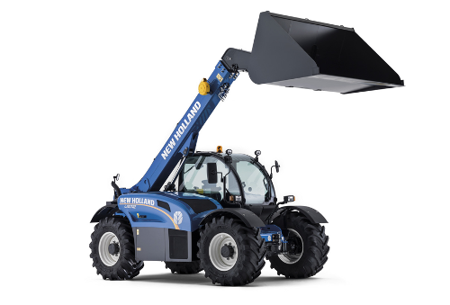 ITT 1878 CM93  NEW HOLLAND Telehandler and frontloader LM