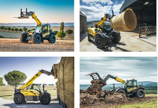 new holland serie th manipuladoras telescopicas