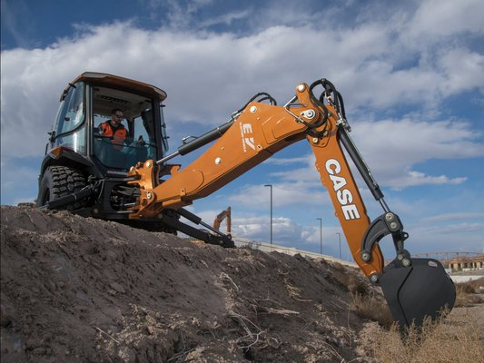 ITT CM93: Project Zeus, The first fully electric backhoe