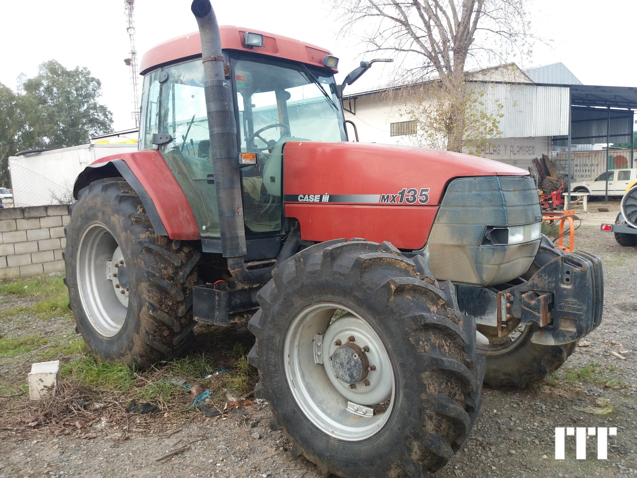 Farm tractors Case MX 135 - 1