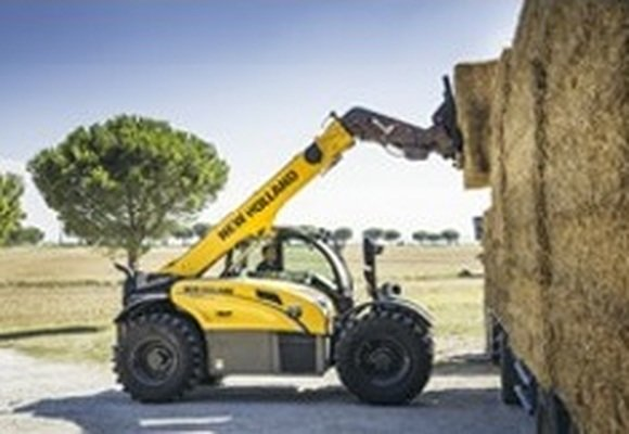 ITT CM93 New Holland and its new telescopic handlers