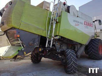 Combine harvester Claas LEXION 550 - 7
