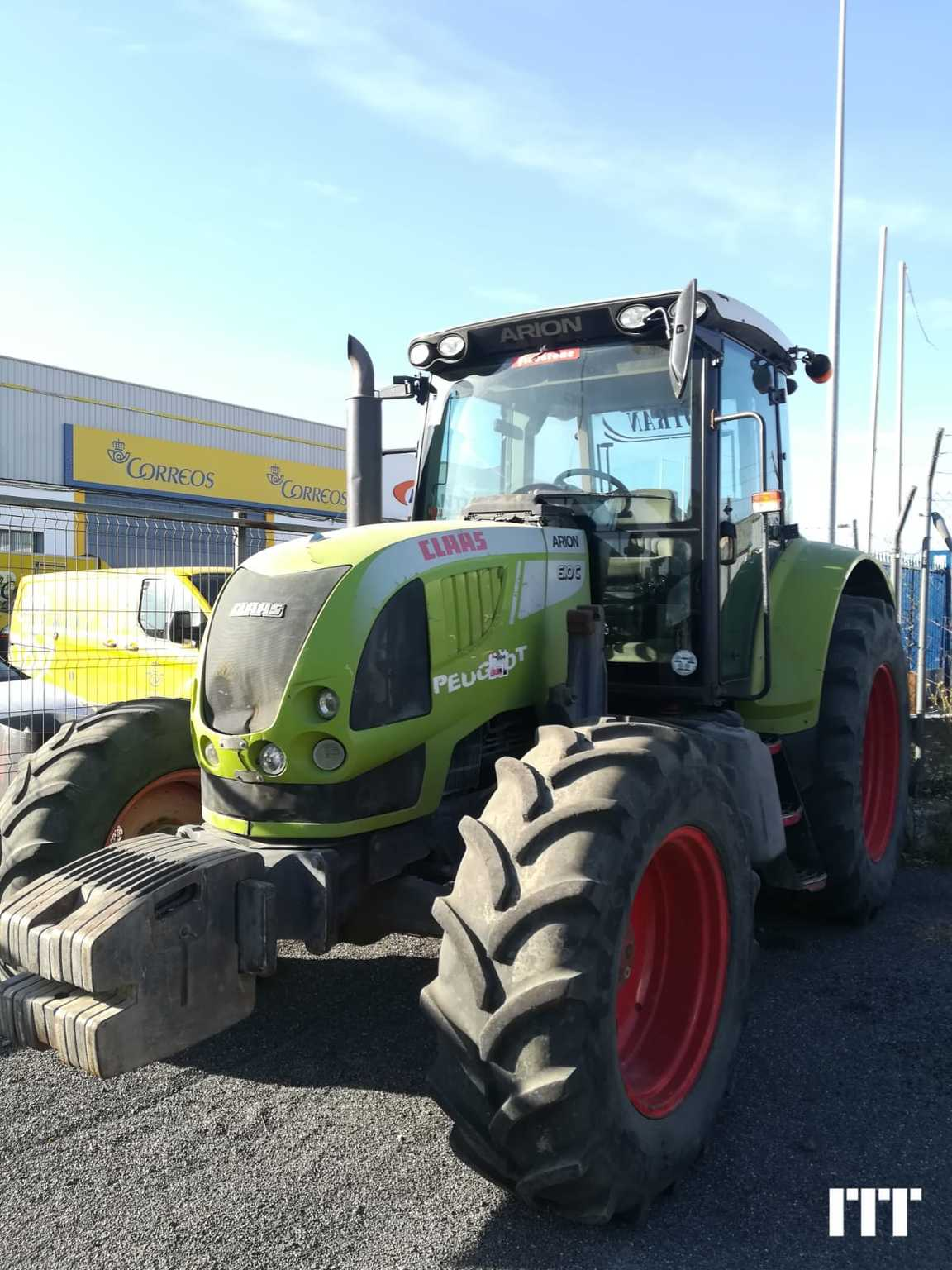 Farm tractors Claas ARION 610 - 1